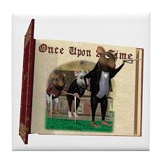 The Three Blind Mice Tile Coaster