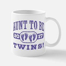 Aunt To Be Twins 2017 Mug