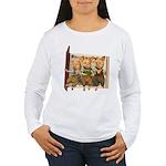 The Three Little Pigs Women's Long Sleeve T-Shirt