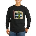 Al Alien Long Sleeve Dark T-Shirt