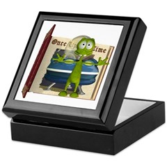 Al Alien Keepsake Box