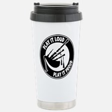 PLAY PROUD Stainless Steel Travel Mug
