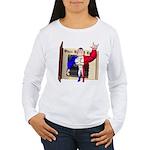 Alpha Man Women's Long Sleeve T-Shirt