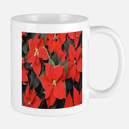 Poinsettia Mugs