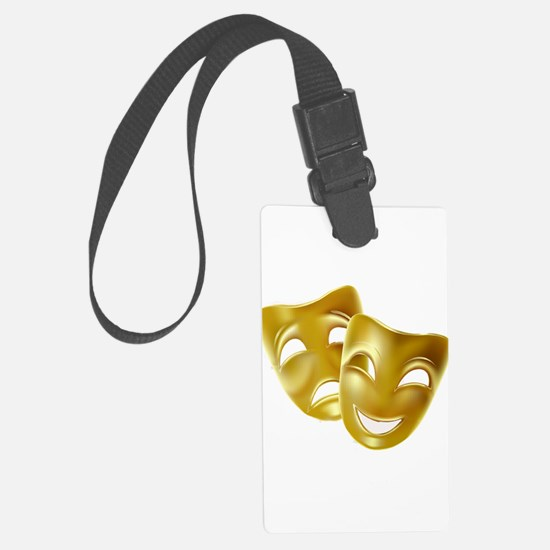 MASKS OF COMEDY & TRAGEDY Luggage Tag