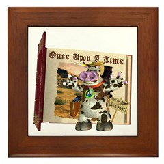 Billy Bull Framed Tile