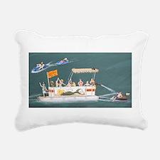 Cute Pontoon Rectangular Canvas Pillow