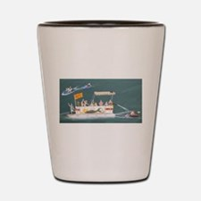 Cute Pontoon Shot Glass