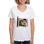 Blossom Women's V-Neck T-Shirt