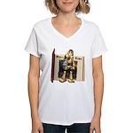Chomper Women's V-Neck T-Shirt