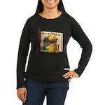 Eggbert Women's Long Sleeve Dark T-Shirt