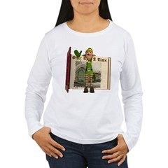 Santa's Elf Women's Long Sleeve T-Shirt