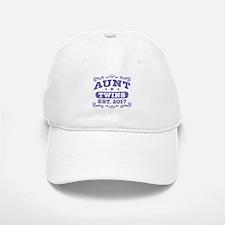 Aunt Twins Est.2017 Baseball Baseball Cap