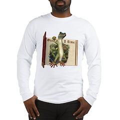 Mr. Gecko Long Sleeve T-Shirt