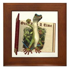 Mr. Gecko Framed Tile