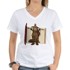 Fairytale Giant Women's V-Neck T-Shirt
