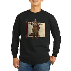 Fairytale Giant Long Sleeve Dark T-Shirt