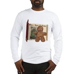 The Gingerbread Man Long Sleeve T-Shirt