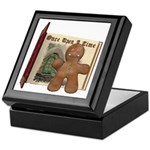 The Gingerbread Man Keepsake Box