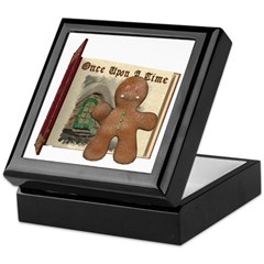 The Gingerbread Man Keepsake Box