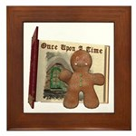 The Gingerbread Man Framed Tile