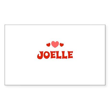 Joelle Rectangle Sticker