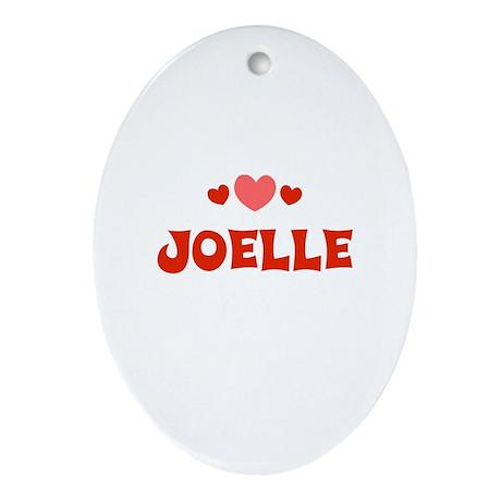 Joelle Oval Ornament