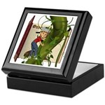 Jack 'N the Beanstalk Keepsake Box