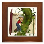 Jack 'N the Beanstalk Framed Tile