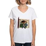 Cowboy Kevin Women's V-Neck T-Shirt