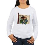 Cowboy Kevin Women's Long Sleeve T-Shirt