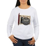 The Man in the Moon Women's Long Sleeve T-Shirt