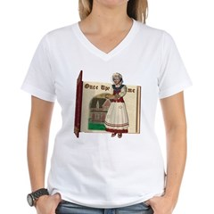 Mother Goose Women's V-Neck T-Shirt