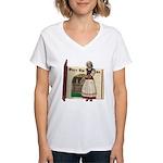 Mother Goose Women's V-Neck T-Shirt