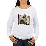 Nickie Squirrel Women's Long Sleeve T-Shirt