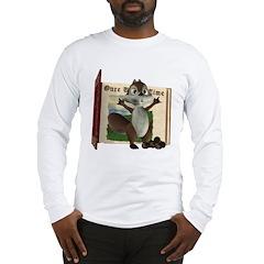 Nickie Squirrel Long Sleeve T-Shirt
