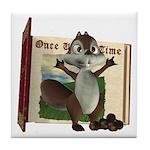 Nickie Squirrel Tile Coaster