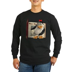 Penny Penguin Long Sleeve Dark T-Shirt