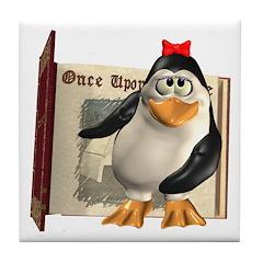 Penny Penguin Tile Coaster