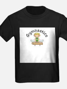Blonde Pommel Horse Boy T-Shirt
