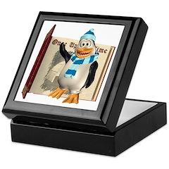Percy Penguin Keepsake Box