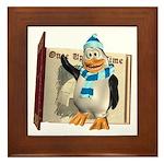 Percy Penguin Framed Tile