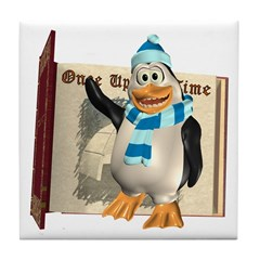 Percy Penguin Tile Coaster