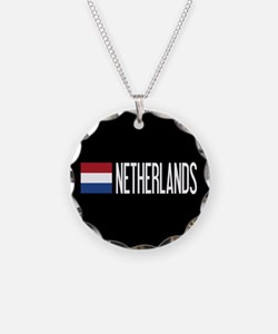 Netherlands: Dutch Flag & Ne Necklace