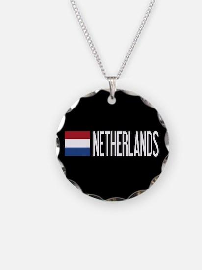 Netherlands: Dutch Flag & Ne Necklace