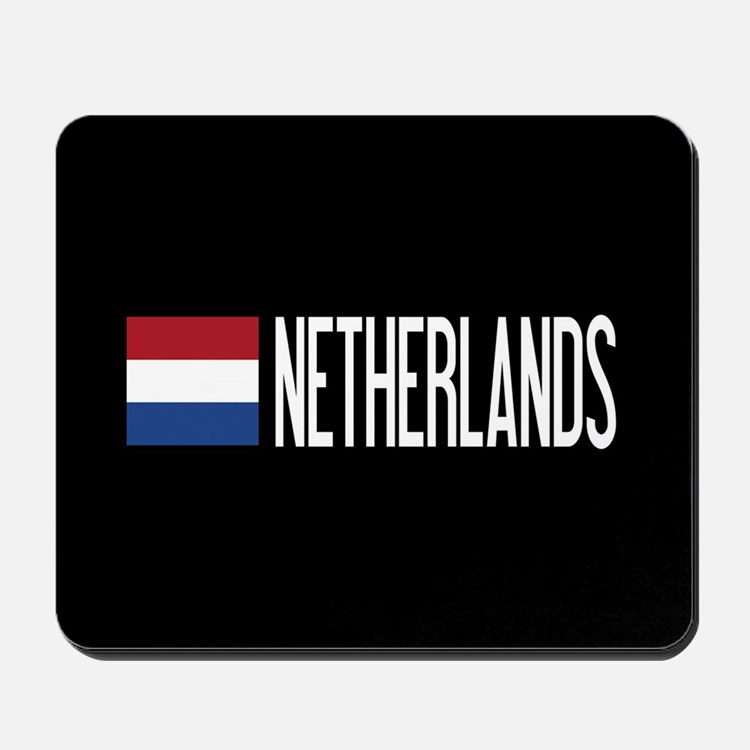 Netherlands: Dutch Flag & Netherlands Mousepad
