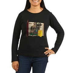 Rattachewie Women's Long Sleeve Dark T-Shirt