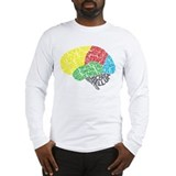 Brain Long Sleeve T-shirts