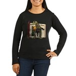 Sal A. Manda Women's Long Sleeve Dark T-Shirt