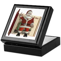 Santa Keepsake Box